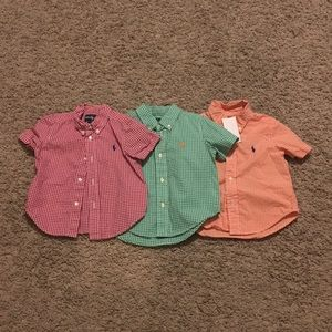 Polo by Ralph Lauren Infants button down shirts